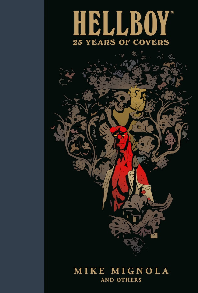 hellboycoverscov HELLBOY: 25 YEARS OF COVERS features over 150 covers