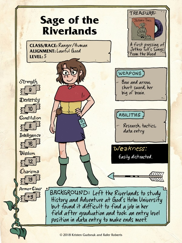 modfansage1 Get to know the party of MODERN FANTASY adventurers
