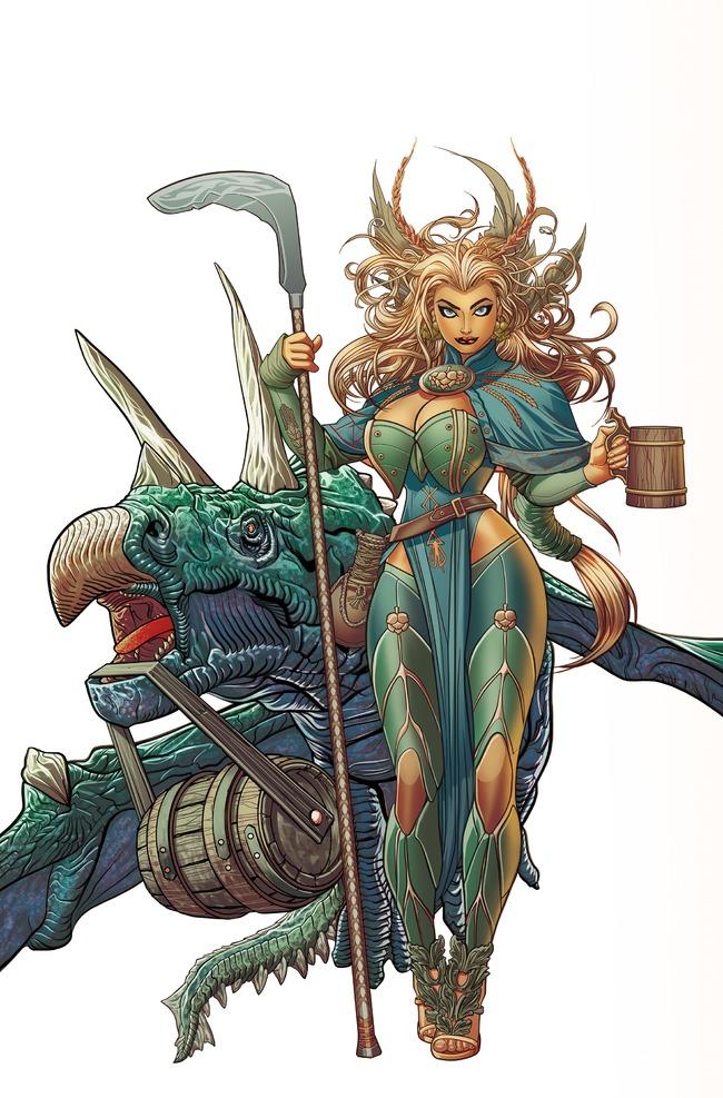 ninkasi Dark Horse Comics brews up LEGEND OF NINKASI: RISE OF CRAFT