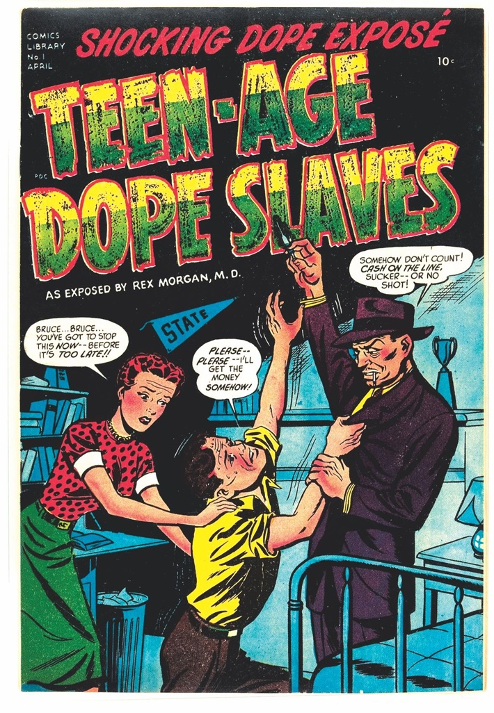 reefermadpg2 ComicList Previews: REEFER MADNESS TP