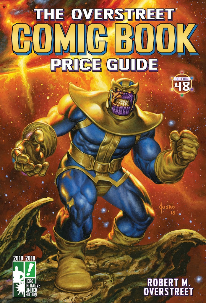 thanos_overstreet Joe Jusko brings Thanos to THE OVERSTREET COMIC BOOK PRICE GUIDE