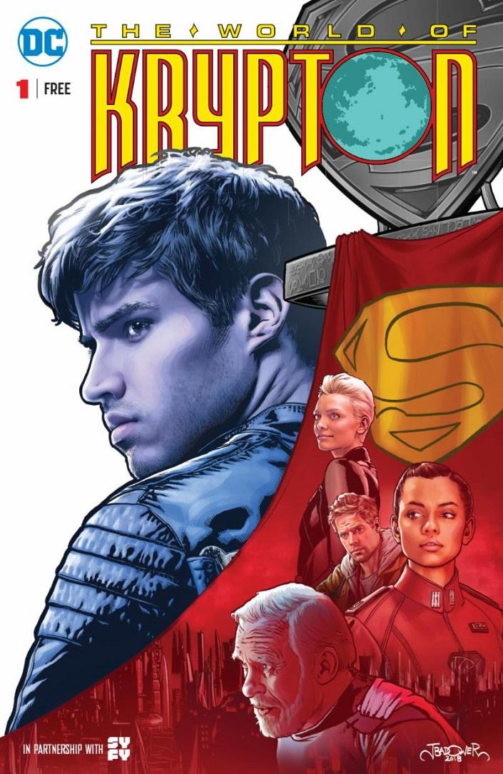 worldofkrypton1 THE WORLD OF KRYPTON #1 reprint comic to arrive March 14