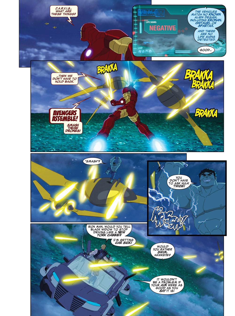 15_MUAVAssembleSeason2-1_001 ComicList Previews: MARVEL COMICS DIGEST #6 (AVENGERS VS THANOS)