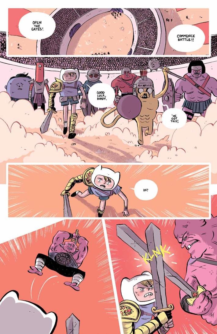 ATComics_022_PRESS_6 ComicList Previews: ADVENTURE TIME COMICS #22