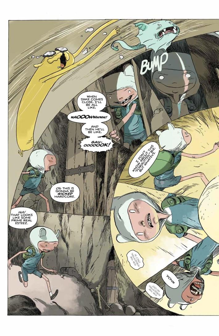 ATComics_v4_SC_PRESS_9 ComicList Previews: ADVENTURE TIME COMICS VOLUME 4 TP