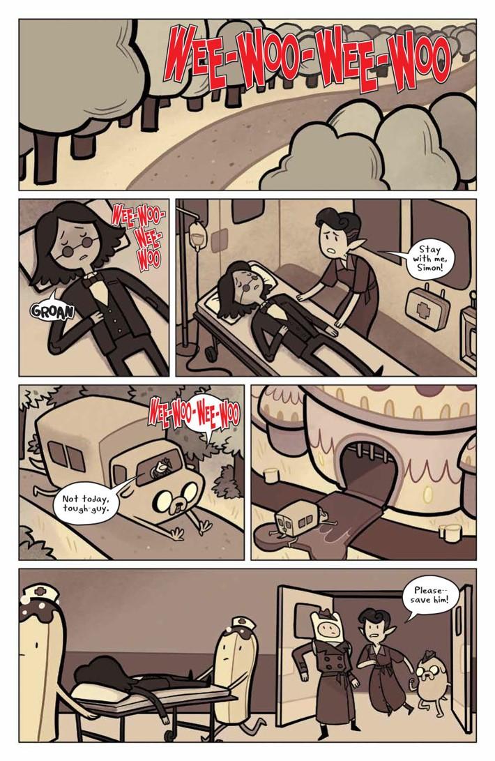 ATMarcy&Simon_002_PRESS_3 ComicList Previews: ADVENTURE TIME MARCY AND SIMON #2