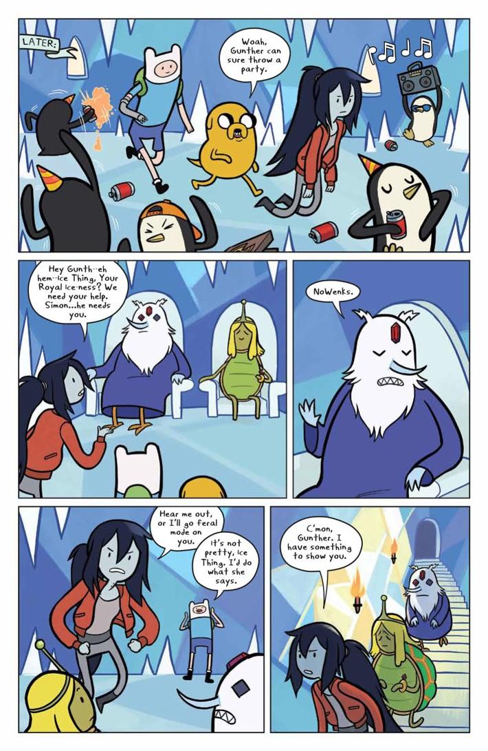 ATMarcy&Simon_002_PRESS_7 ComicList Previews: ADVENTURE TIME MARCY AND SIMON #2