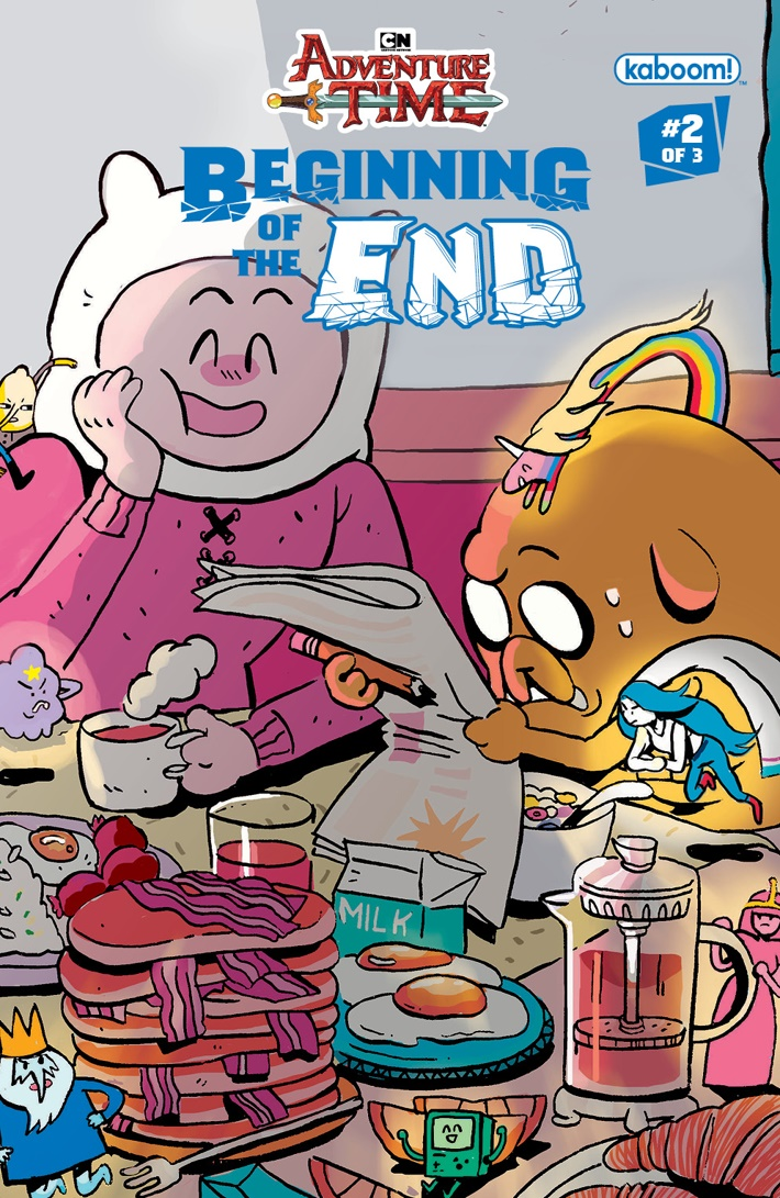 AT_Beginning_of_the_End_002_B_Subscription ComicList Previews: ADVENTURE TIME BEGINNING OF THE END #2
