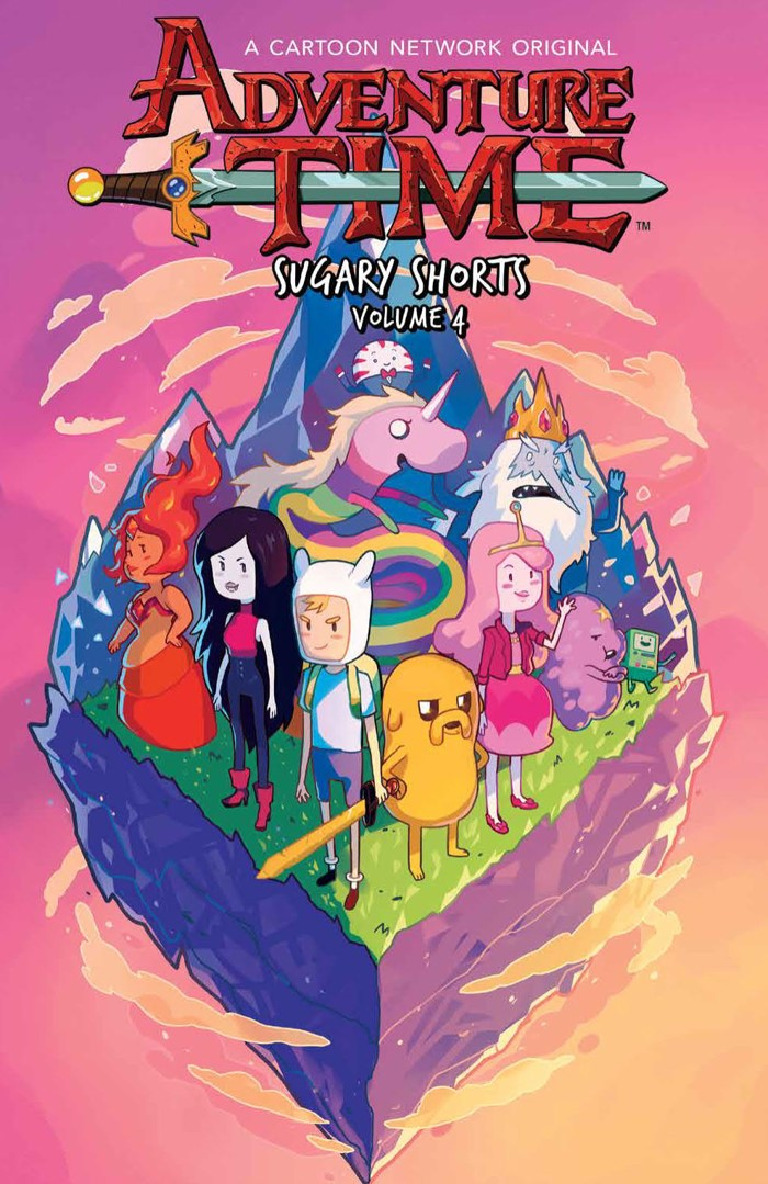 AT_SugaryShorts_v4_SC_PRESS_1 ComicList Previews: ADVENTURE TIME SUGARY SHORTS VOLUME 4 TP