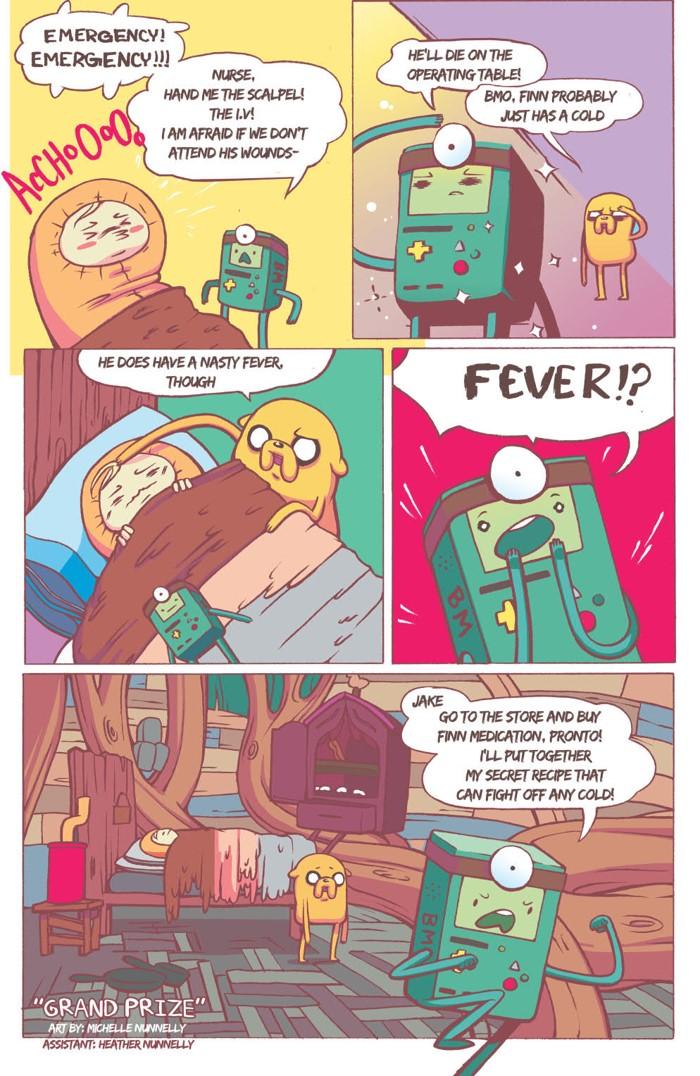 AT_SugaryShorts_v4_SC_PRESS_38 ComicList Previews: ADVENTURE TIME SUGARY SHORTS VOLUME 4 TP