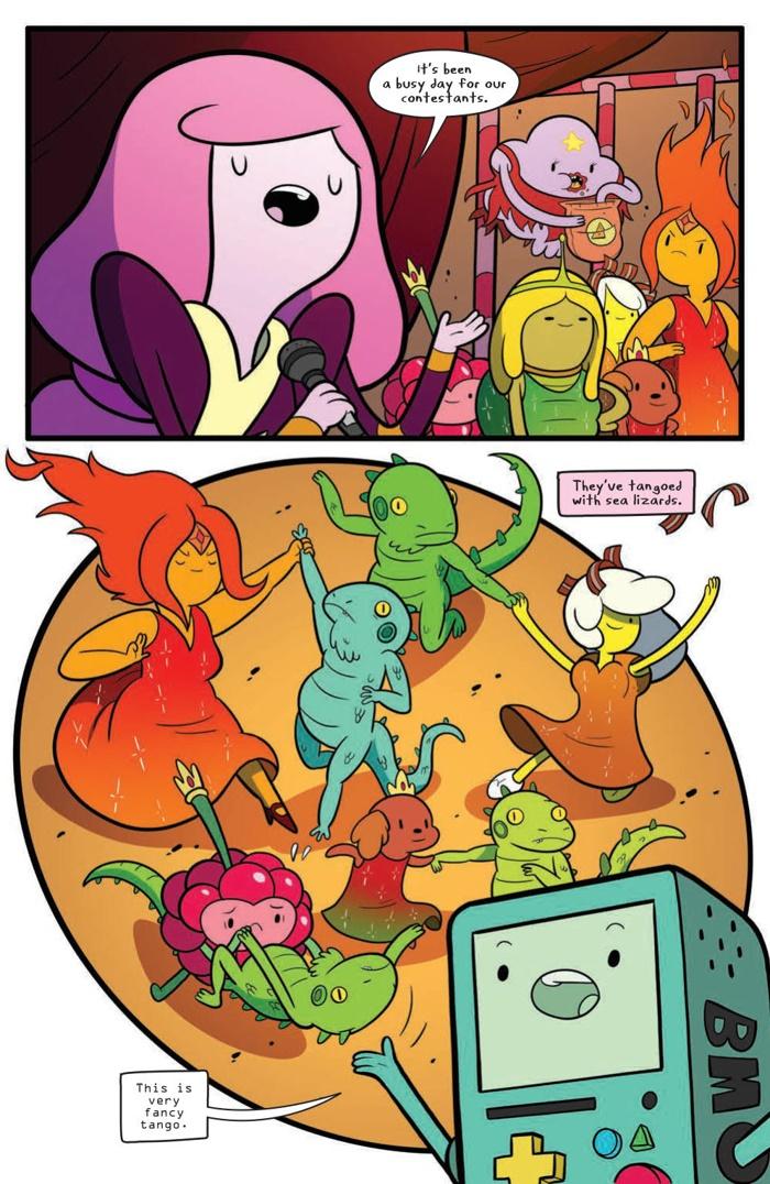 AdventureTime_063_PRESS_6 ComicList Preview: ADVENTURE TIME #63