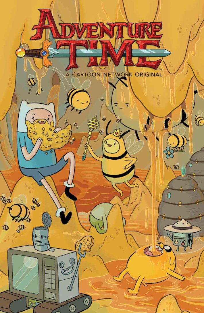 AdventureTime_v14_SC_PRESS_1 ComicList Previews: ADVENTURE TIME VOLUME 14 TP