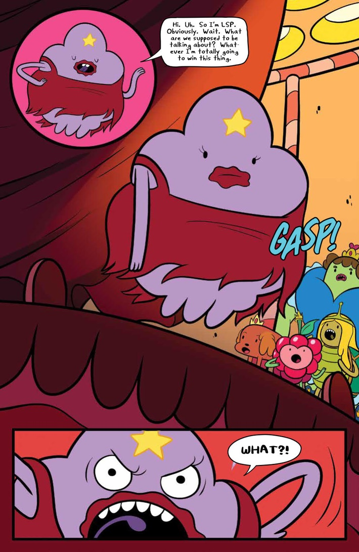 AdventureTime_v14_SC_PRESS_13 ComicList Previews: ADVENTURE TIME VOLUME 14 TP