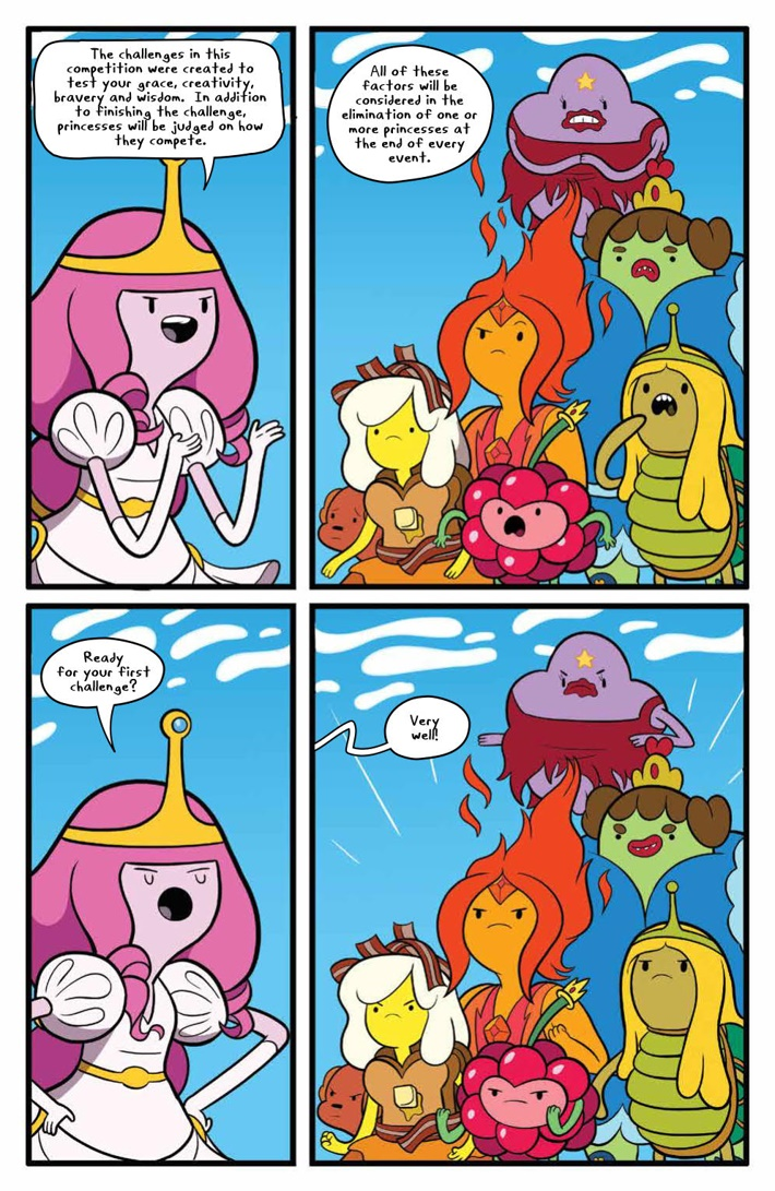 AdventureTime_v14_SC_PRESS_17 ComicList Previews: ADVENTURE TIME VOLUME 14 TP