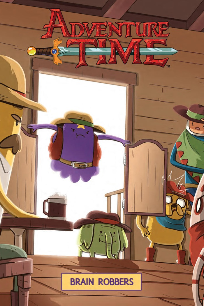 AdventureTime_v9_OGN_COVER ComicList Preview: ADVENTURE TIME VOLUME 9 BRAIN ROBBERS GN