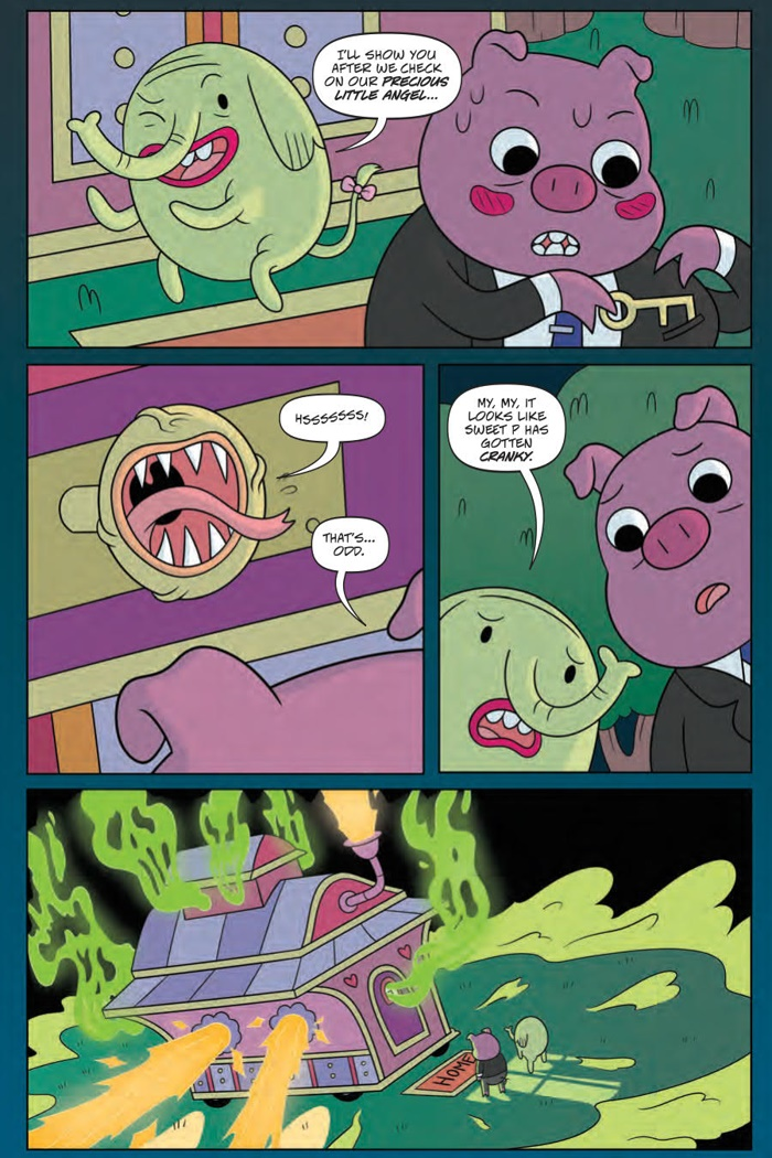 AdventureTime_v9_OGN_PRESS_10 ComicList Preview: ADVENTURE TIME VOLUME 9 BRAIN ROBBERS GN