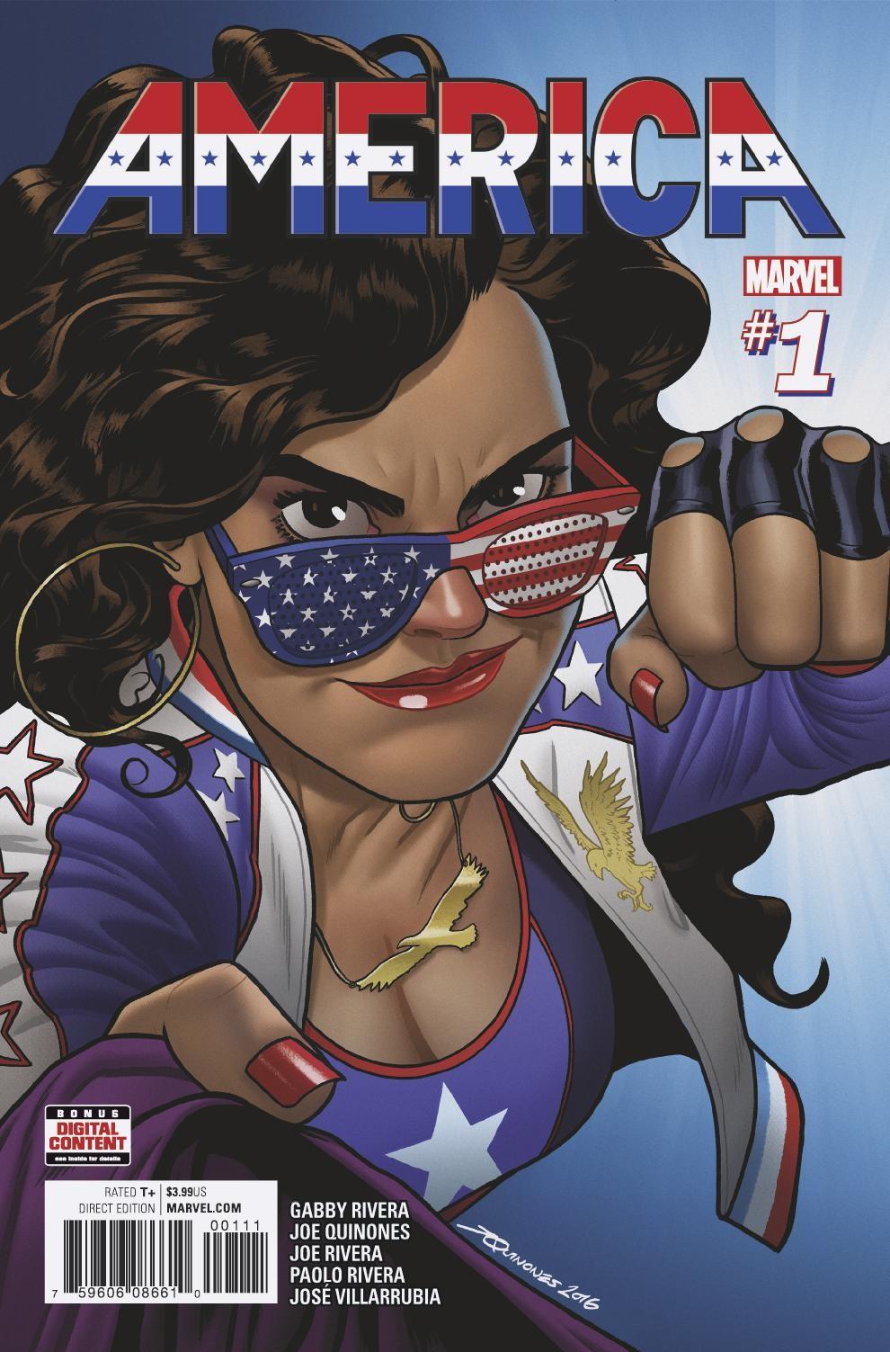 America_1_Cover ComicList Preview: AMERICA #1