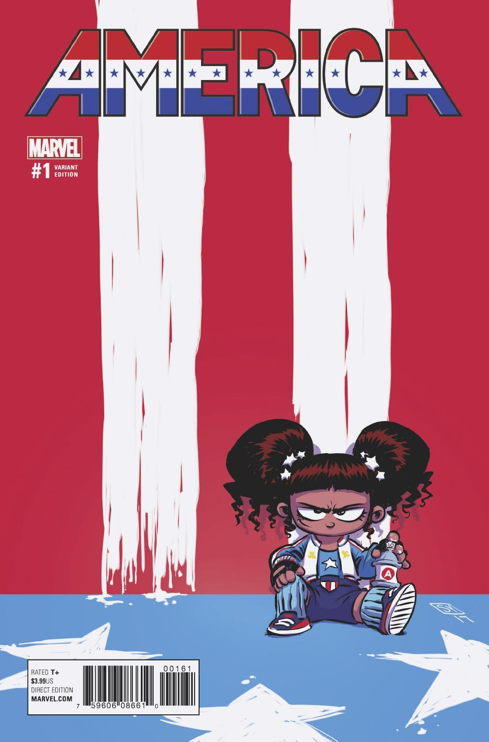 America_1_Young_Variant ComicList Preview: AMERICA #1