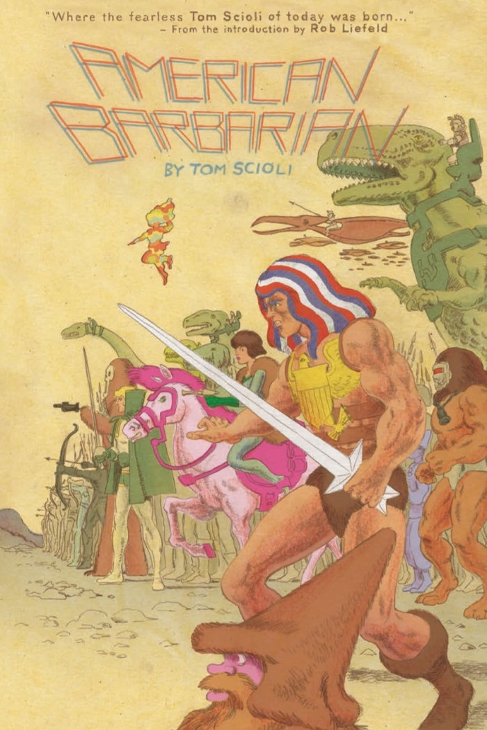 AmericanBarbarian_Complete-pr-1 ComicList Preview: AMERICAN BARBARIAN THE COMPLETE SERIES TP
