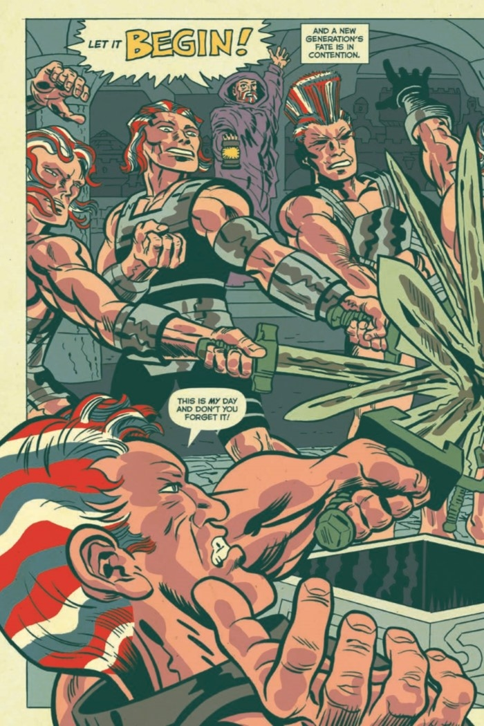 AmericanBarbarian_Complete-pr-4 ComicList Preview: AMERICAN BARBARIAN THE COMPLETE SERIES TP