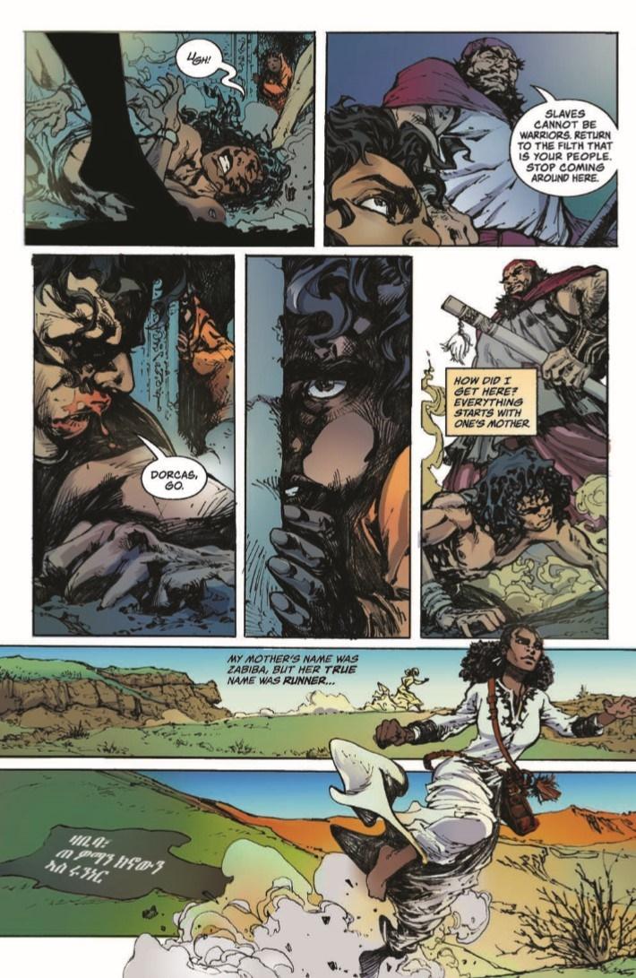 Antar_01-pr-5 ComicList Previews: ANTAR #1