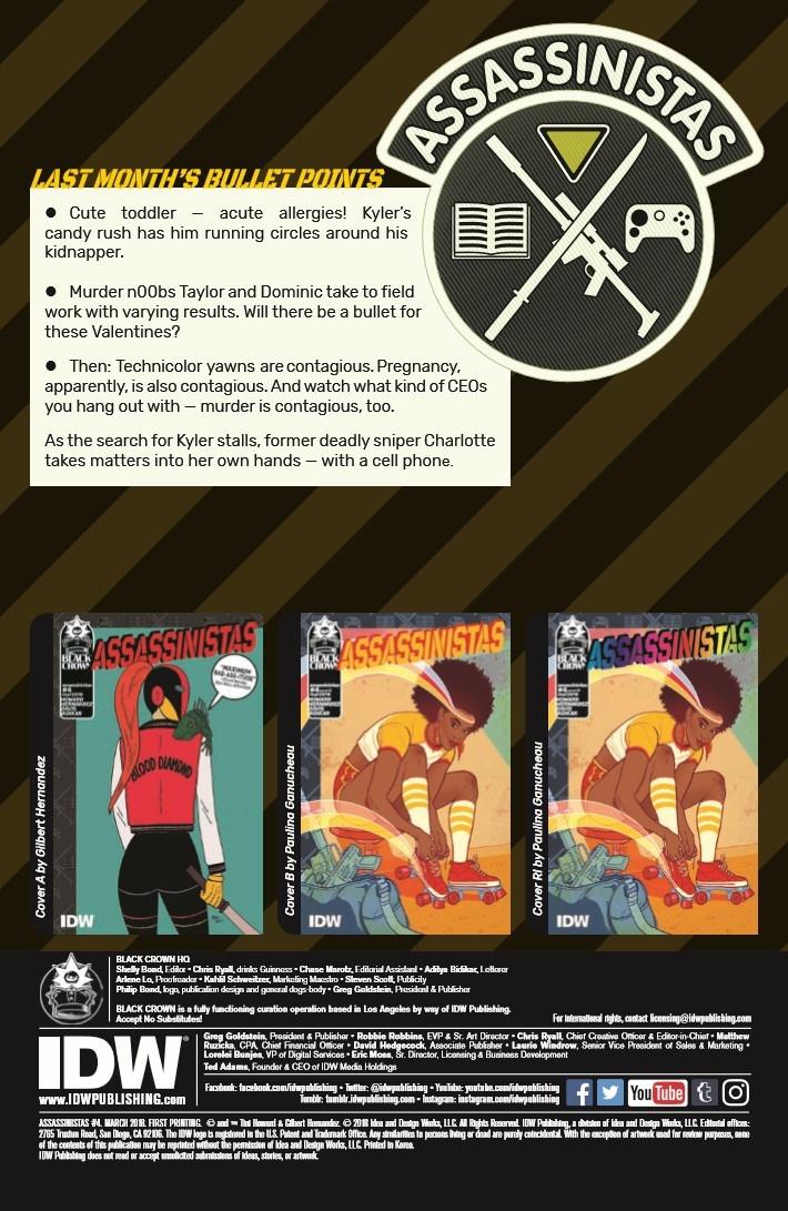 Assassinistas_04-pr-2 ComicList Previews: ASSASSINISTAS #4