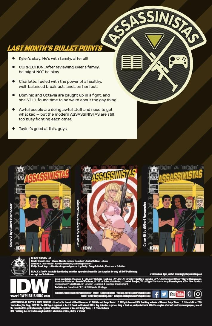 Assassinistas_06-pr-2 ComicList Previews: ASSASSINISTAS #6