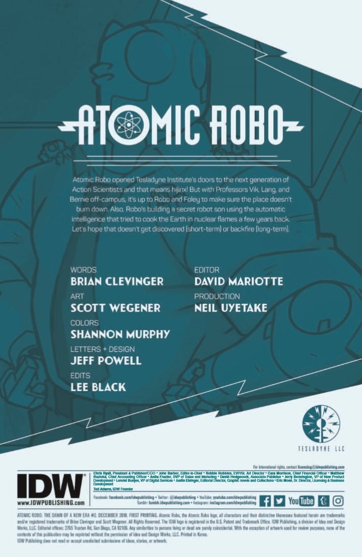 Atomic_Robo_Dawn_New_Era_02-pr-2 ComicList Previews: ATOMIC ROBO AND THE DAWN OF A NEW ERA #2