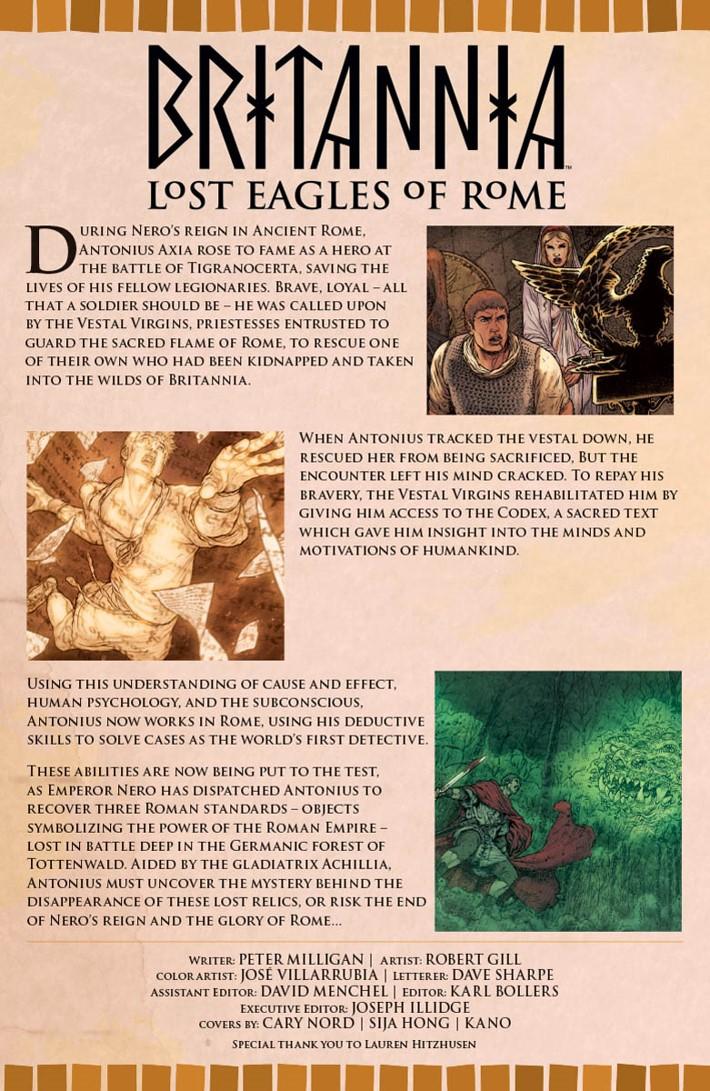 BRITANNIA3_002_001 ComicList Previews: BRITANNIA LOST EAGLES OF ROME #2