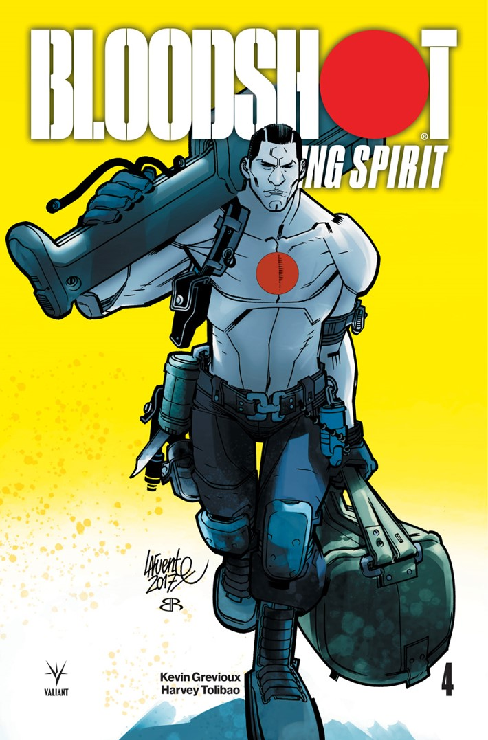 BRS4_COVER_B ComicList Previews: BLOODSHOT RISING SPIRIT #4