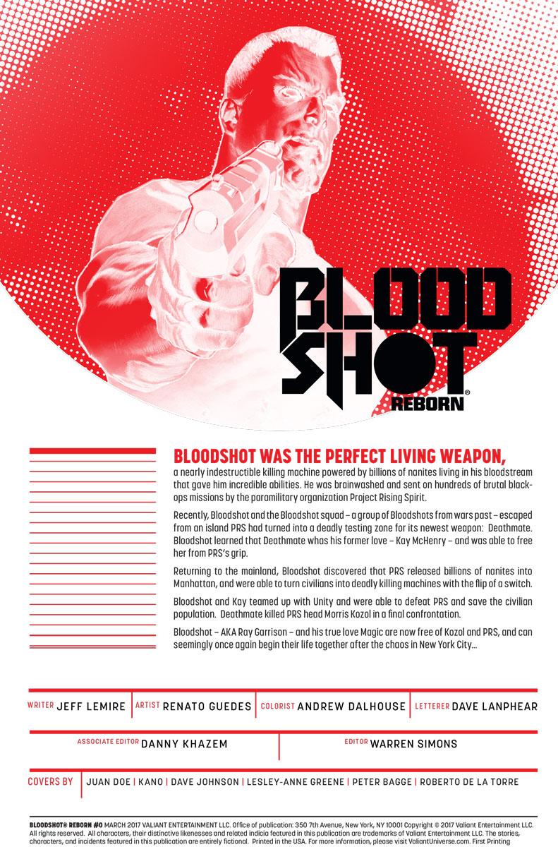 BSRB_000_001 ComicList Preview: BLOODSHOT REBORN #0