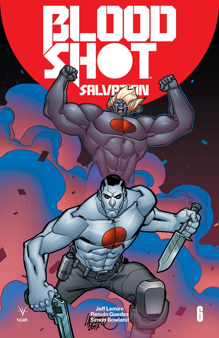 BSS_006_VARIANT-INTERLOCKING_LAFUENTE ComicList Previews: BLOODSHOT SALVATION #6