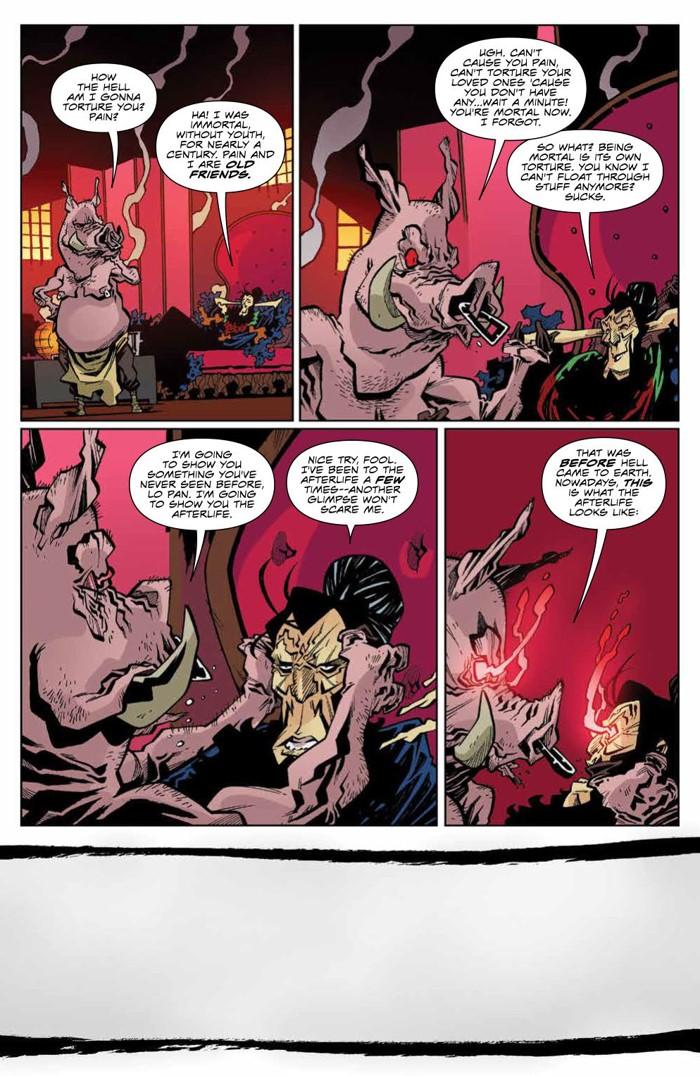 BTLC_OMJ_006_PRESS_6 ComicList Previews: BIG TROUBLE IN LITTLE CHINA OLD MAN JACK #6