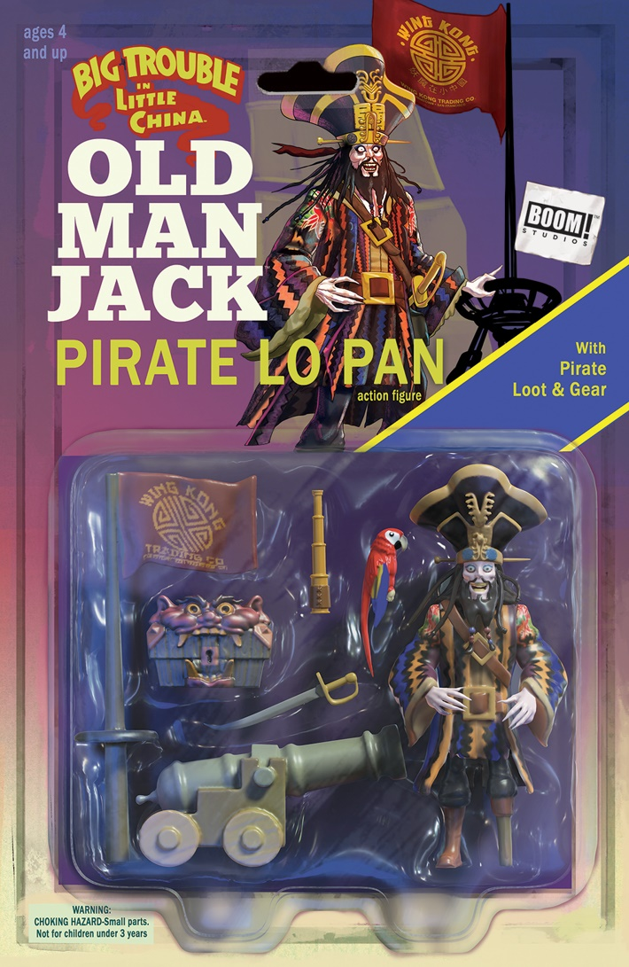 BTLC_OMJ_008_B_ActionFigure ComicList Previews: BIG TROUBLE IN LITTLE CHINA OLD MAN JACK #8