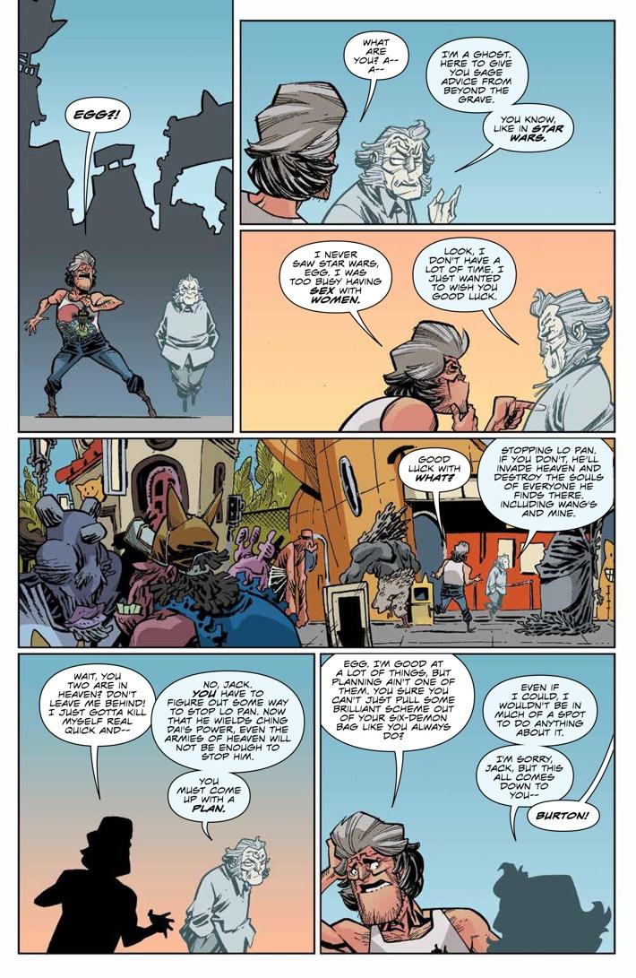 BTLC_OMJ_010_PRESS_6 ComicList Previews: BIG TROUBLE IN LITTLE CHINA OLD MAN JACK #10