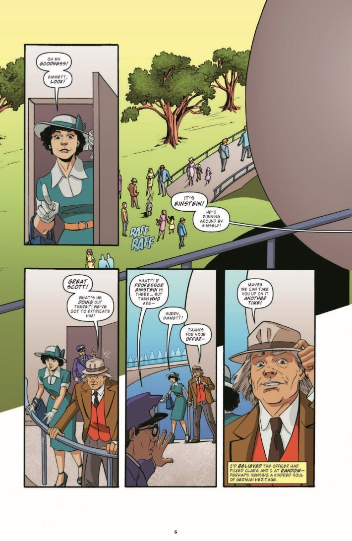 BTTF_TimeTrain_03-pr-6 ComicList Previews: BACK TO THE FUTURE TALES FROM THE TIME TRAIN #3