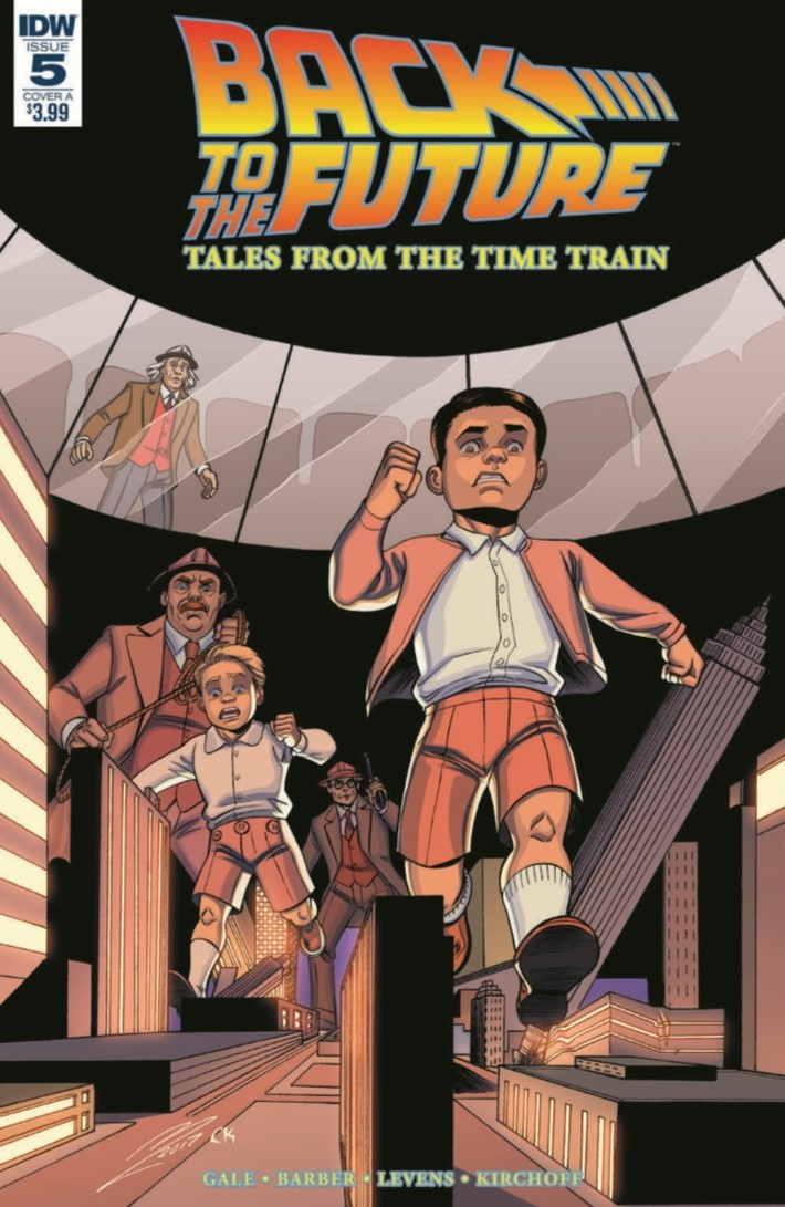 BackToTheFuture_TimeTrain_05-pr-1 ComicList Previews: BACK TO THE FUTURE TALES FROM THE TIME TRAIN #5