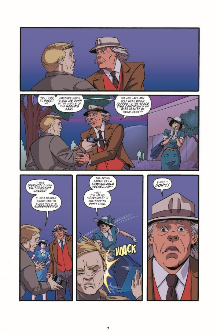 BackToTheFuture_TimeTrain_05-pr-7 ComicList Previews: BACK TO THE FUTURE TALES FROM THE TIME TRAIN #5