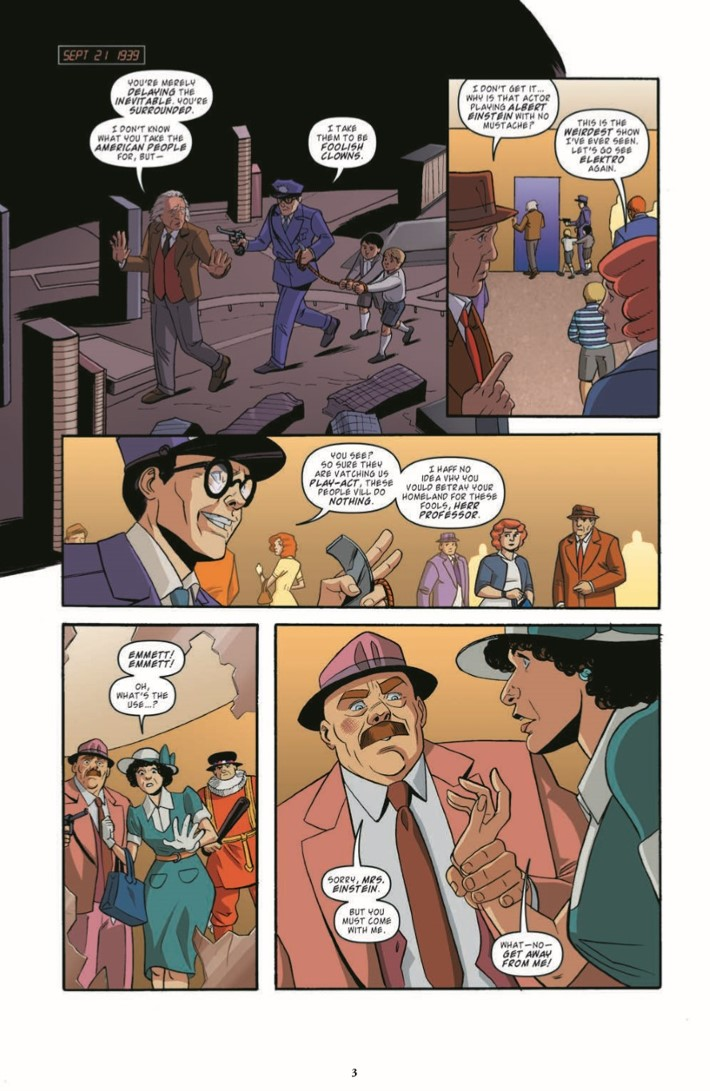 BackToTheFuture_Time_Train_06-pr-3 ComicList Previews: BACK TO THE FUTURE TALES FROM THE TIME TRAIN #6