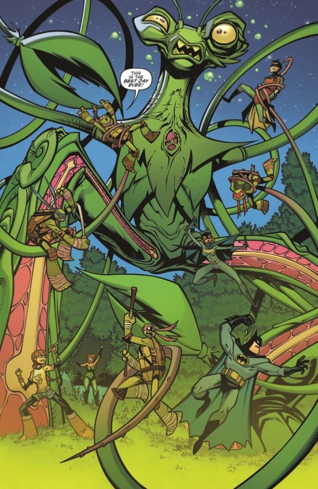 Batman-TMNT_Adv_03-pr-4 ComicList Preview: BATMAN TEENAGE MUTANT NINJA TURTLES ADVENTURES #3