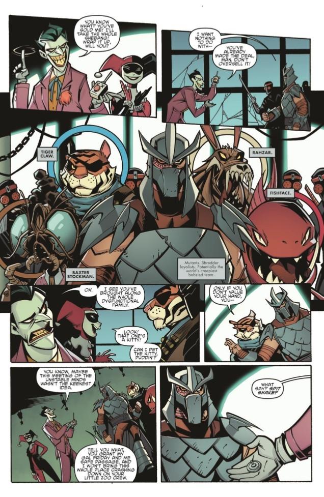 Batman-TMNT_Adv_03-pr-6 ComicList Preview: BATMAN TEENAGE MUTANT NINJA TURTLES ADVENTURES #3