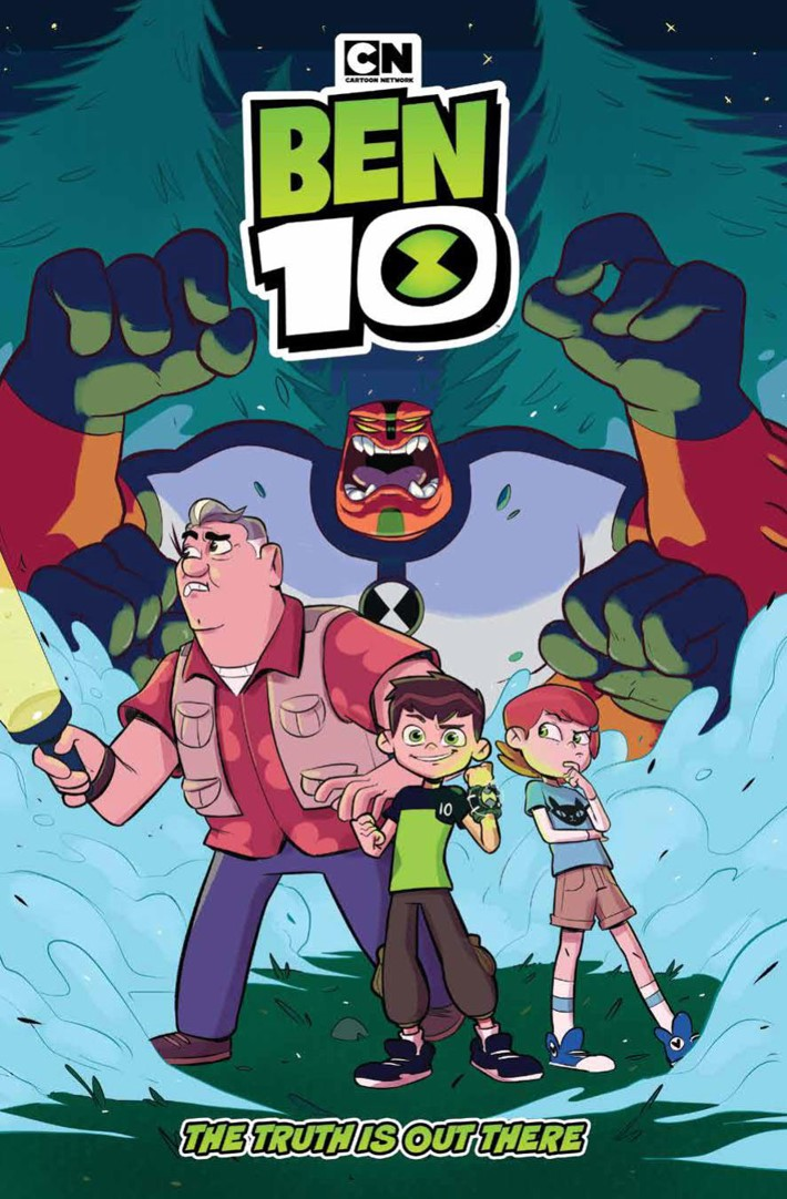 Ben10_TruthOutThere_v1_OGN_PRESS_1 ComicList Previews: BEN 10 THE TRUTH IS OUT THERE GN