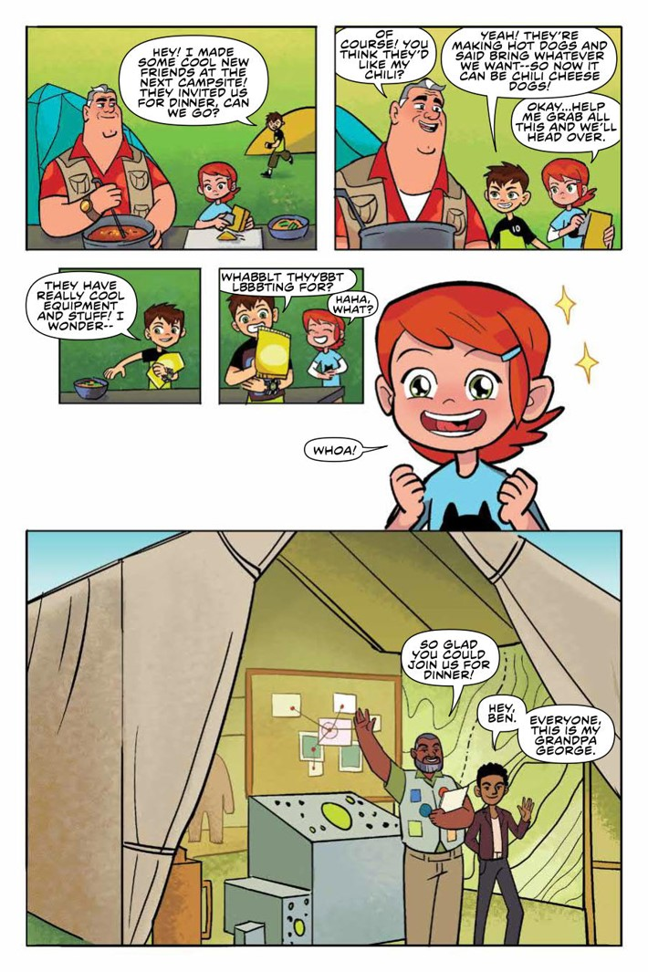 Ben10_TruthOutThere_v1_OGN_PRESS_18 ComicList Previews: BEN 10 THE TRUTH IS OUT THERE GN