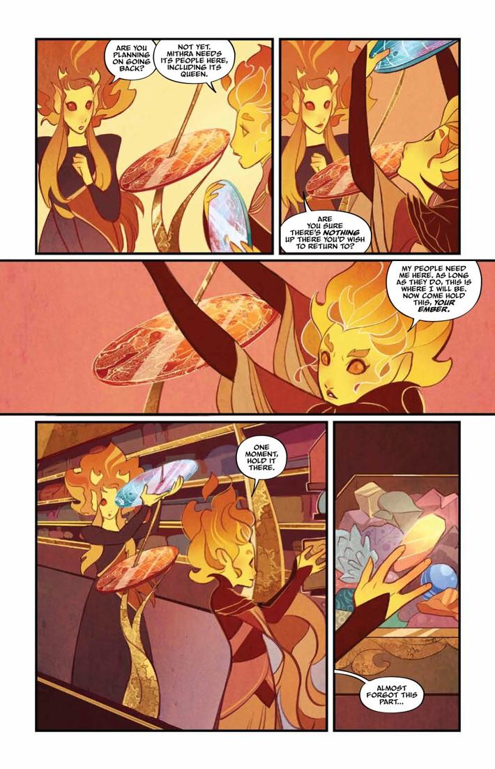 BeneathDarkCrystal_v1_HC_PRESS_19 ComicList Previews: JIM HENSON'S BENEATH THE DARK CRYSTAL VOLUME 1 HC