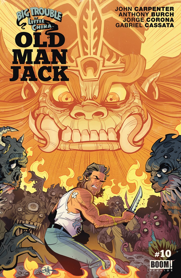BigTrouble_010_A_Main ComicList Previews: BIG TROUBLE IN LITTLE CHINA OLD MAN JACK #10