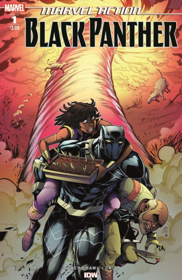 Black_Panther_01-pr-1 ComicList Previews: MARVEL ACTION BLACK PANTHER #1