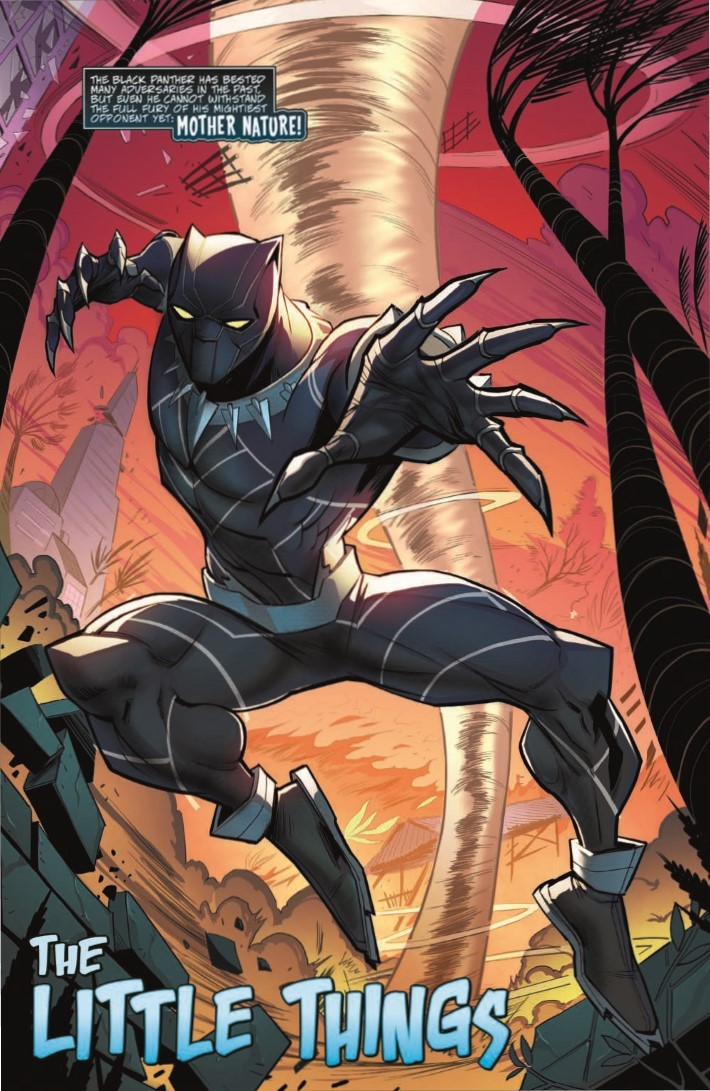 Black_Panther_01-pr-3 ComicList Previews: MARVEL ACTION BLACK PANTHER #1