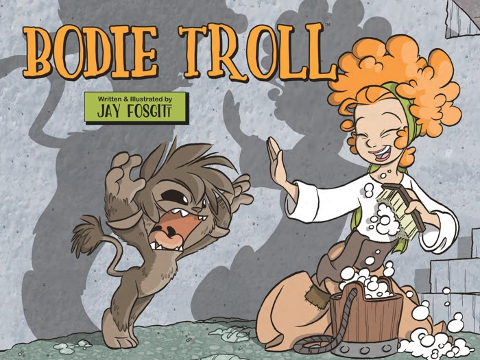 BodieTroll_OGN_PRESS_4-5 ComicList Previews: BODIE TROLL GN