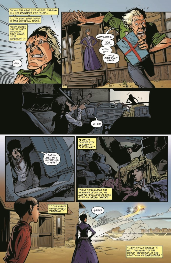 BttF_Timelines_18-pr-6 ComicList Preview: BACK TO THE FUTURE #18