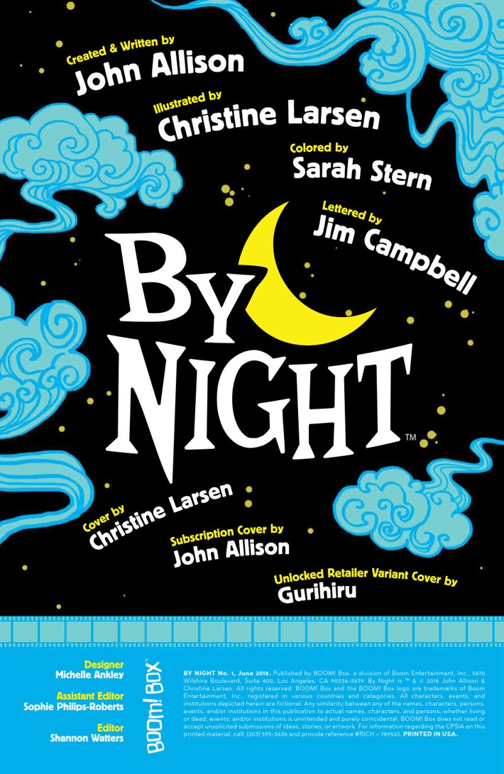 By_Night_001_PRESS_2 ComicList Previews: BY NIGHT #1